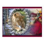 Barbary Lion-Toy-c-46 Post Card