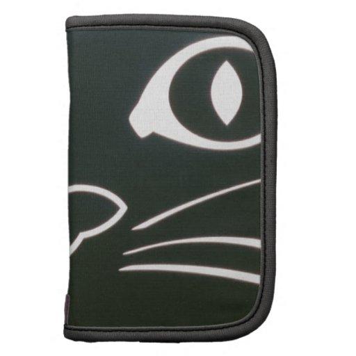 Barbas del gato negro planificador