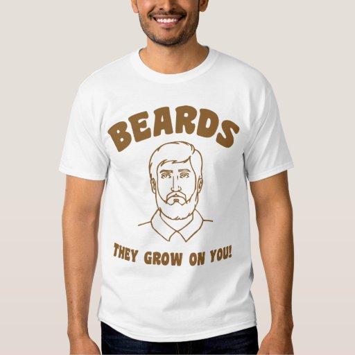 ¡Barbas que crecen en usted! Remera