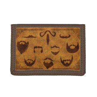 Barbas y bigotes clásicos - cartera