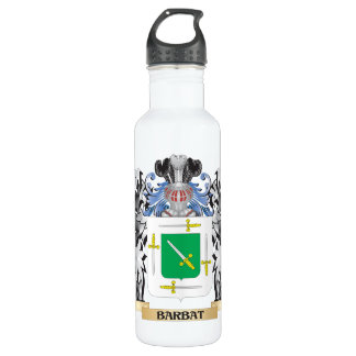 Barbat Coat of Arms - Family Crest 24oz Water Bottle