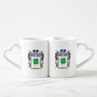 Barbat Coat of Arms - Family Crest Couples' Coffee Mug Set