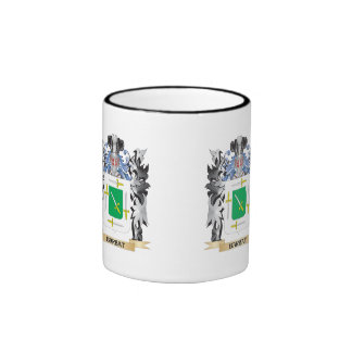 Barbat Coat of Arms - Family Crest Ringer Coffee Mug