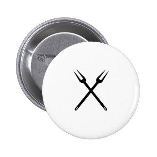 barbecue 2 inch round button