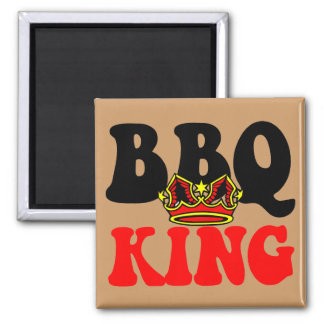 Barbecue 2 Inch Square Magnet