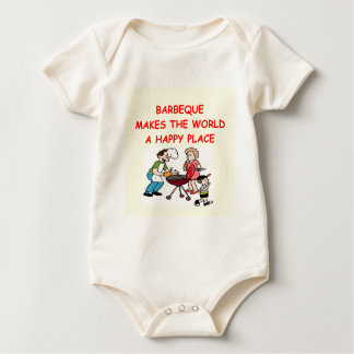 barbecue baby bodysuit