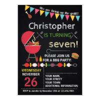 BARBECUE BIRTHDAY INVITATION ANYONE
