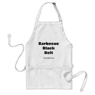 Barbecue Black Belt Apron