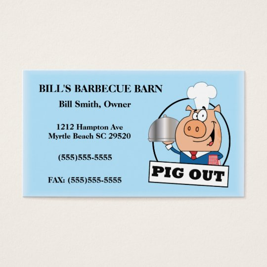 Barbecue Business Card