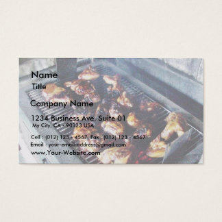 Barbecue Chicken Business Card
