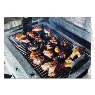 Barbecue Chicken Card