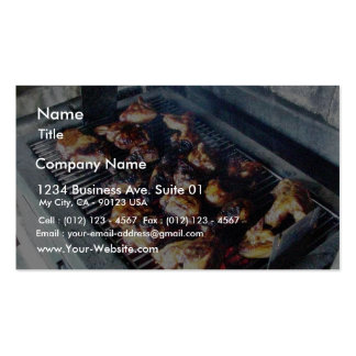 Barbecue Chicken Double-Sided Standard Business Cards (Pack Of 100)