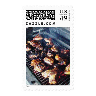 Barbecue Chicken Stamp