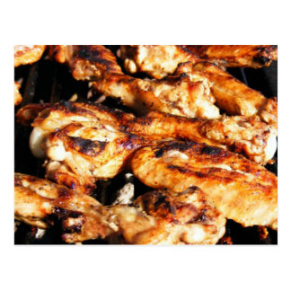 Barbecue Chicken Wings Card