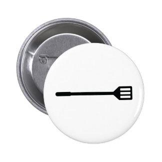 barbecue cutlery icon 2 inch round button
