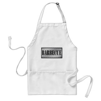 Barbecue Dimond Plated Design Aprons