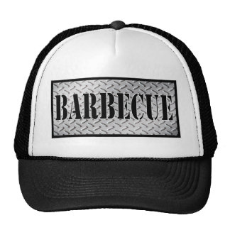 Barbecue Dimond Plated Design Trucker Hat