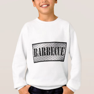 Barbecue Dimond Plated Design Sweatshirt