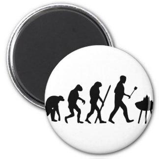 barbecue evolution magnet