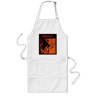Barbecue Flame Apron