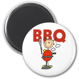 Barbecue Gift 2 Inch Round Magnet