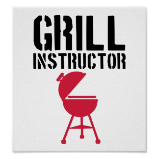 Barbecue - Grill Instructor Posters