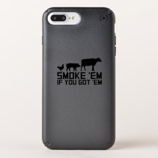 Barbecue Grilling Funny Gif Smoke'Em If You Got'Em Speck iPhone Case