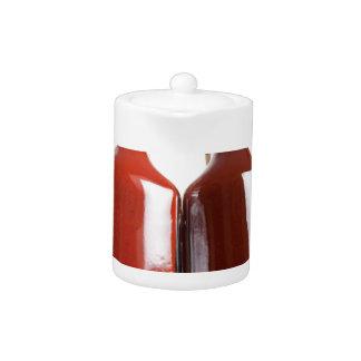 Barbecue hot sauces teapot