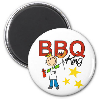 Barbecue King 2 Inch Round Magnet