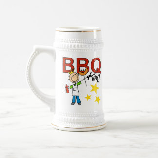 Barbecue King Beer Stein