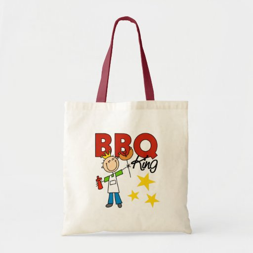 Barbecue King Gift Canvas Bags