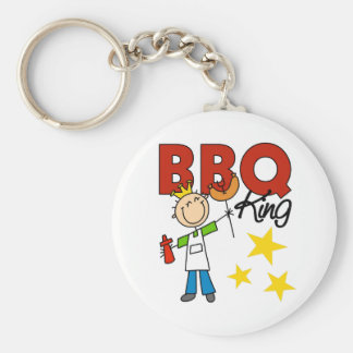 Barbecue King Gift Keychain