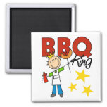 Barbecue King Gift Magnet