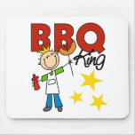 Barbecue King Gift Mousepad