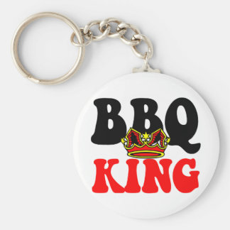 Barbecue King Keychain