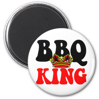 Barbecue King Magnet