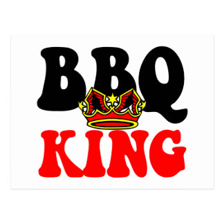 Barbecue King Postcard