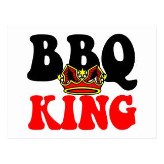 Barbecue King Postcard