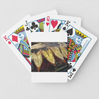 Barbecue Lobster Bicycle Playing Cards