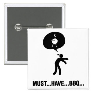 Barbecue Lover Buttons