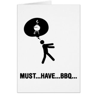 Barbecue Lover Card