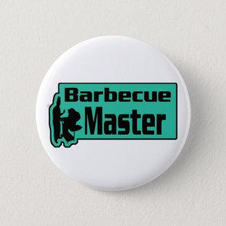 Barbecue Master Pinback Button