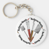 Barbecue Month - Chef Tools Keychain