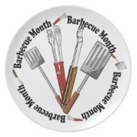 Barbecue Month - Chef Tools Plate