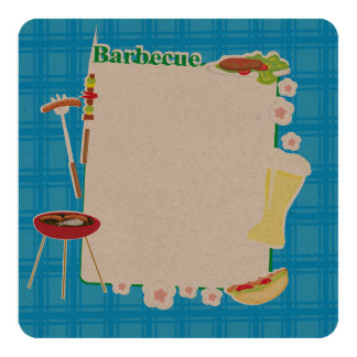 Barbecue Party Card