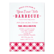 Barbecue Party Invitation | Casual BBQ at Zazzle