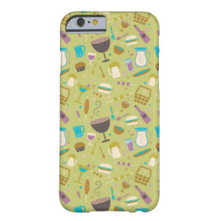 Barbecue Pattern Barely There iPhone 6 Case