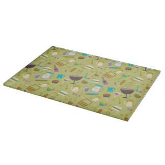 Barbecue Pattern Cutting Boards