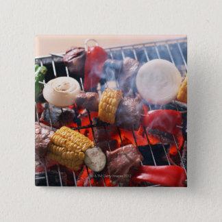 Barbecue Pinback Button