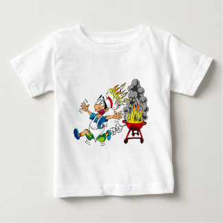 Barbecue pit master grill bbq smoker baby T-Shirt